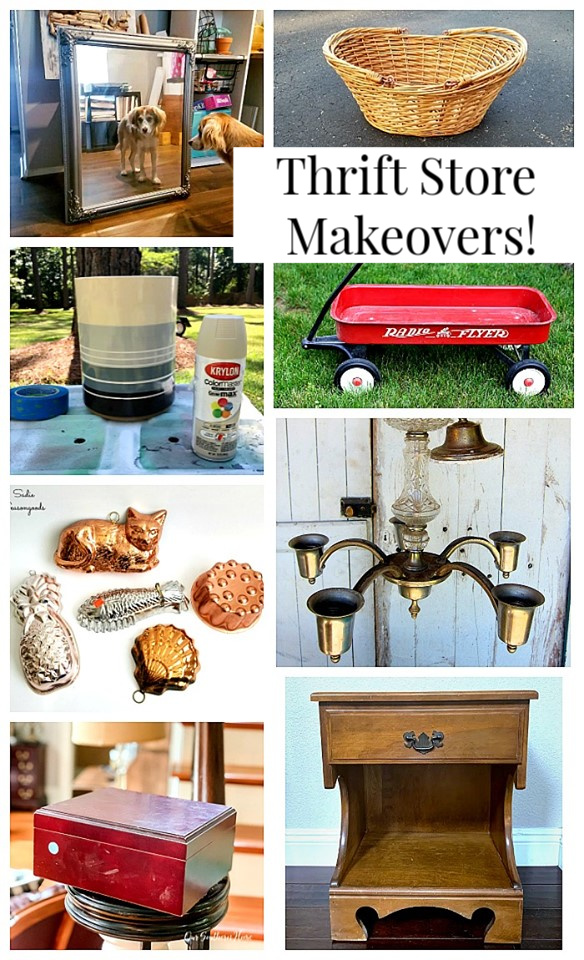 DIY Crock idea plus more thrift store ideas