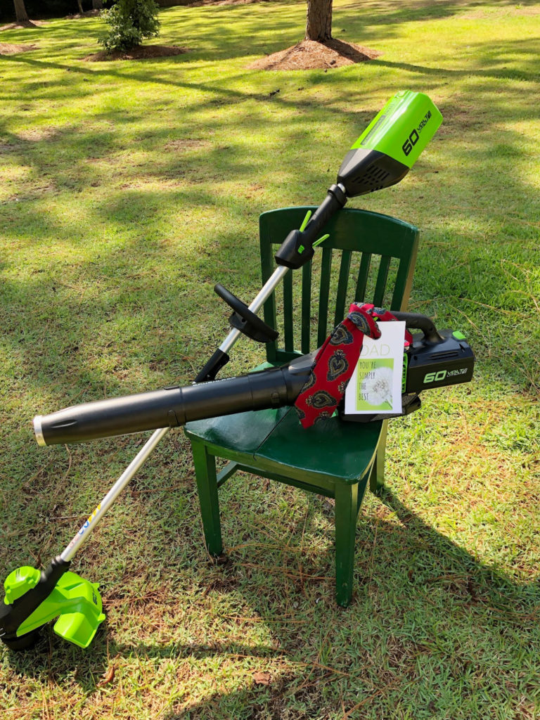 blower and trimmer gift idea