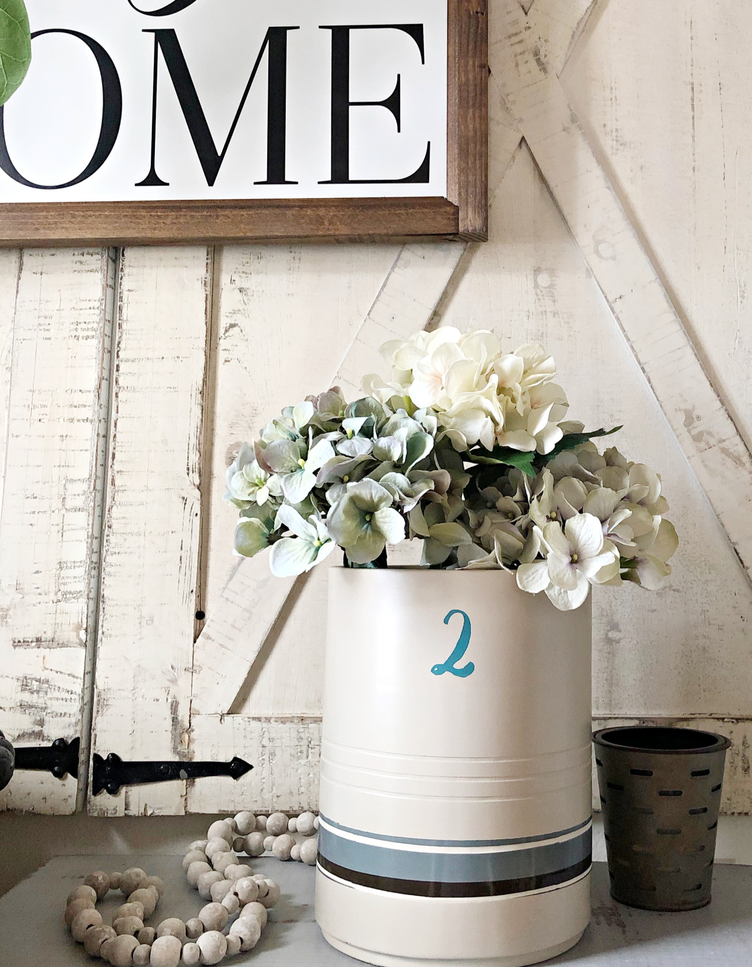 diy crock antique look