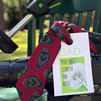 tools and tie fathers day idea