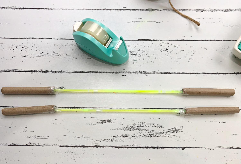 make a scroll rod