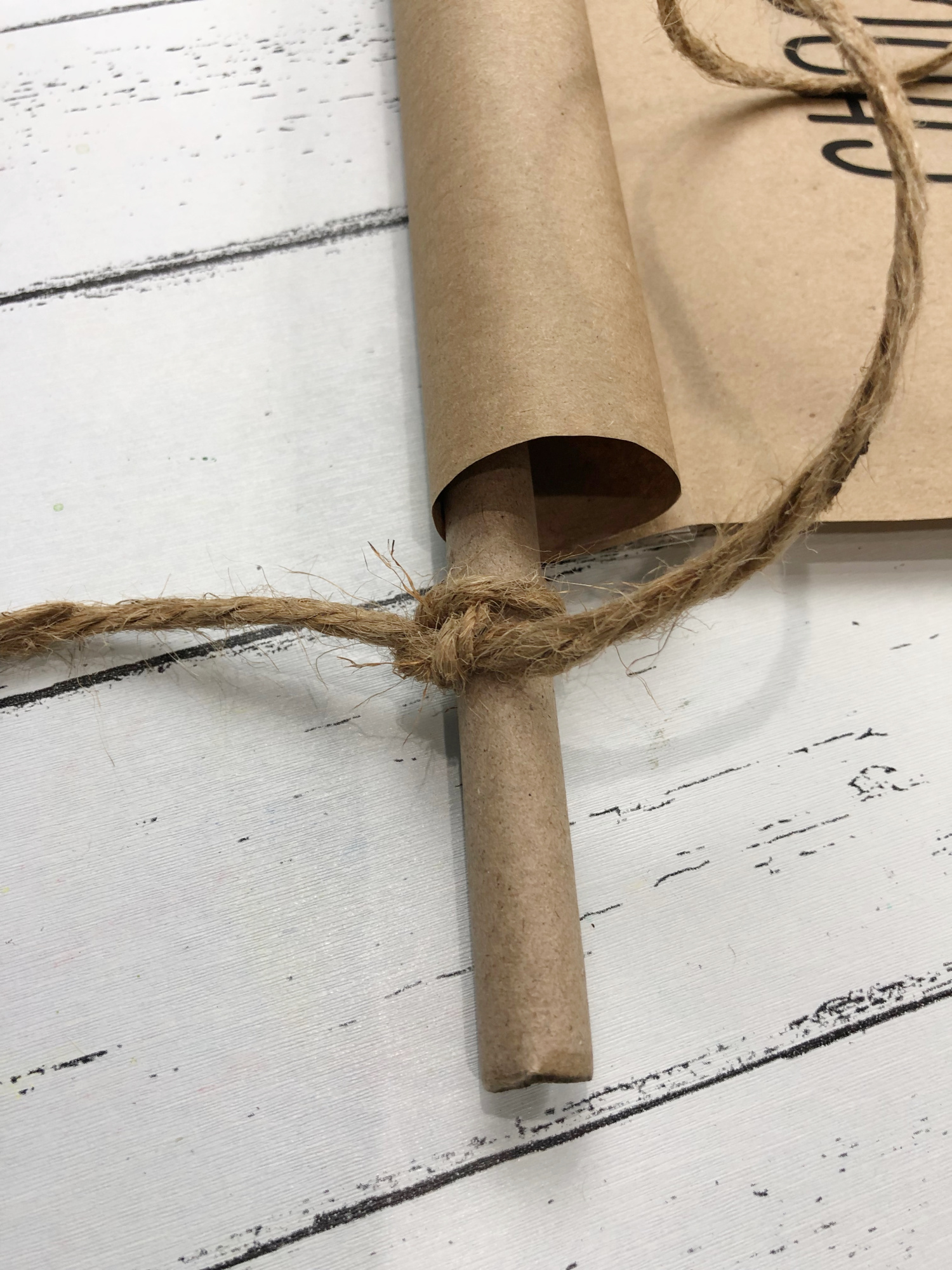scroll rod holder