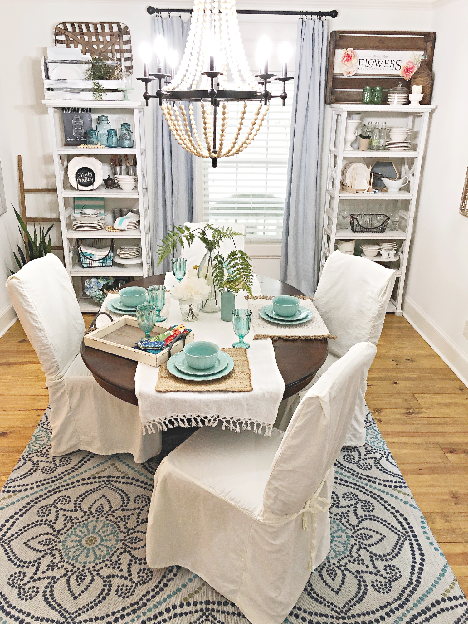 Vintage Farmhouse Dining | Refresh Restyle