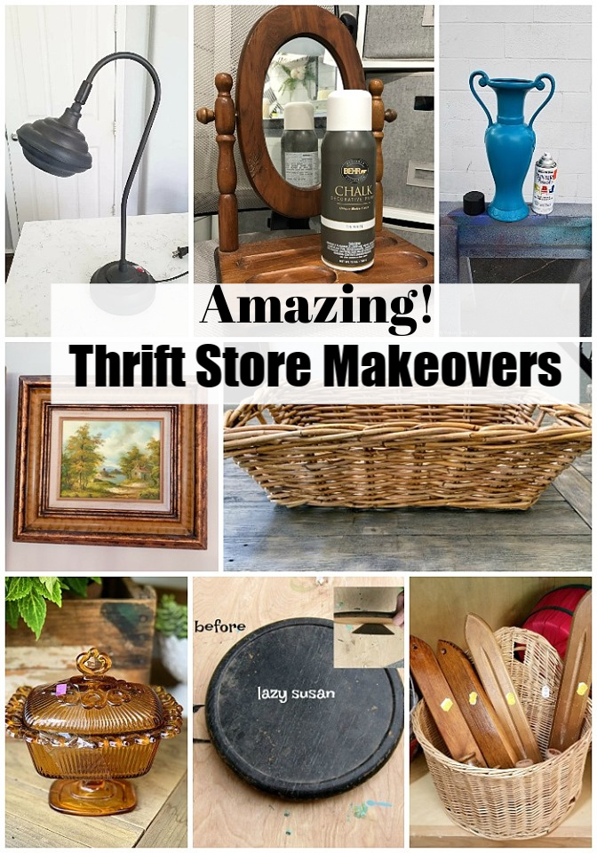 Thrift Store Makeovers-you can do