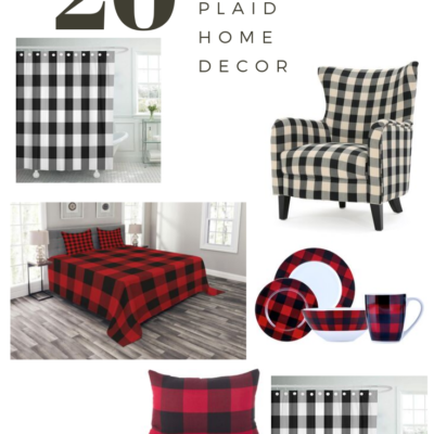 20 Home decor buffalo plaid ideas
