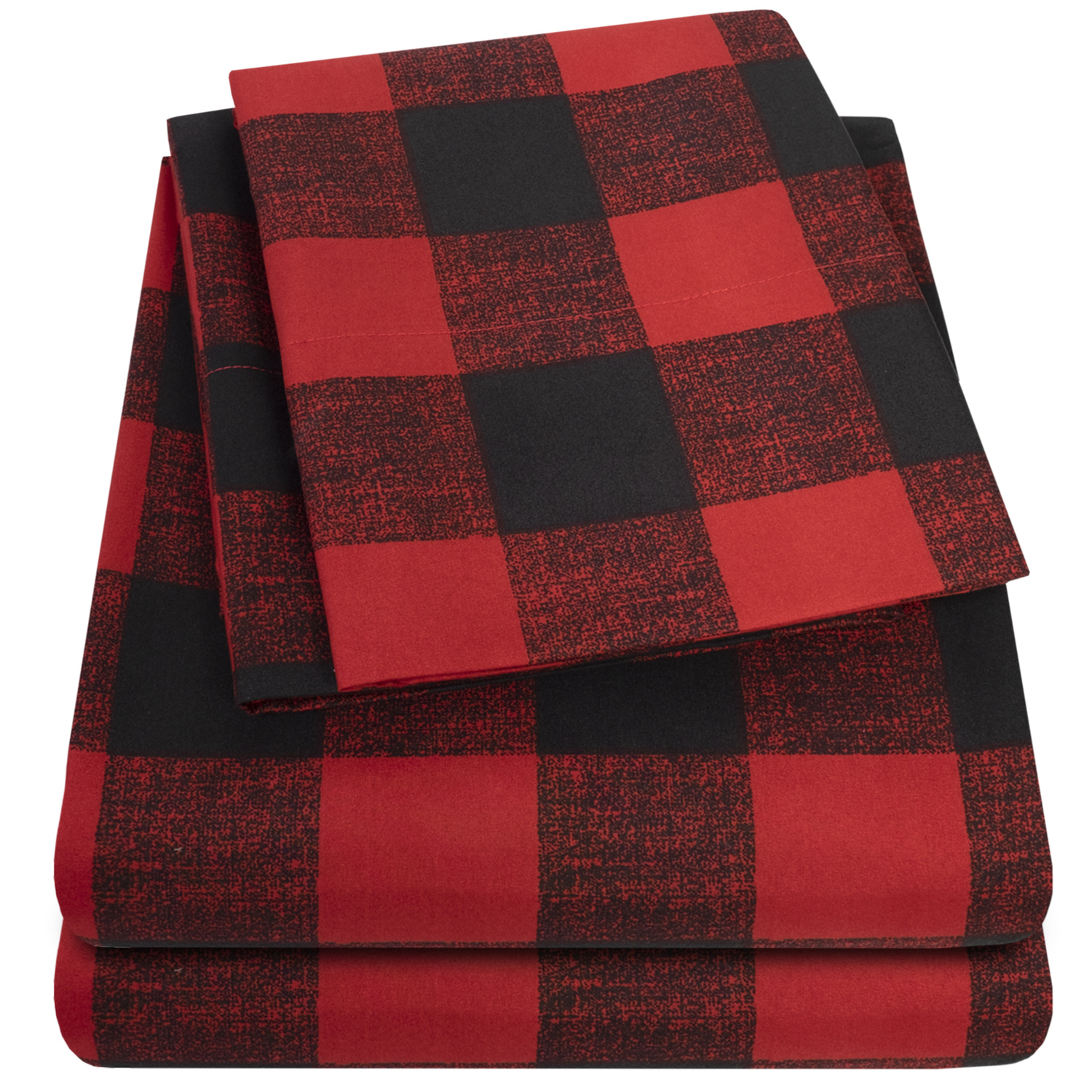 Red Buffalo Plaid Sheet set