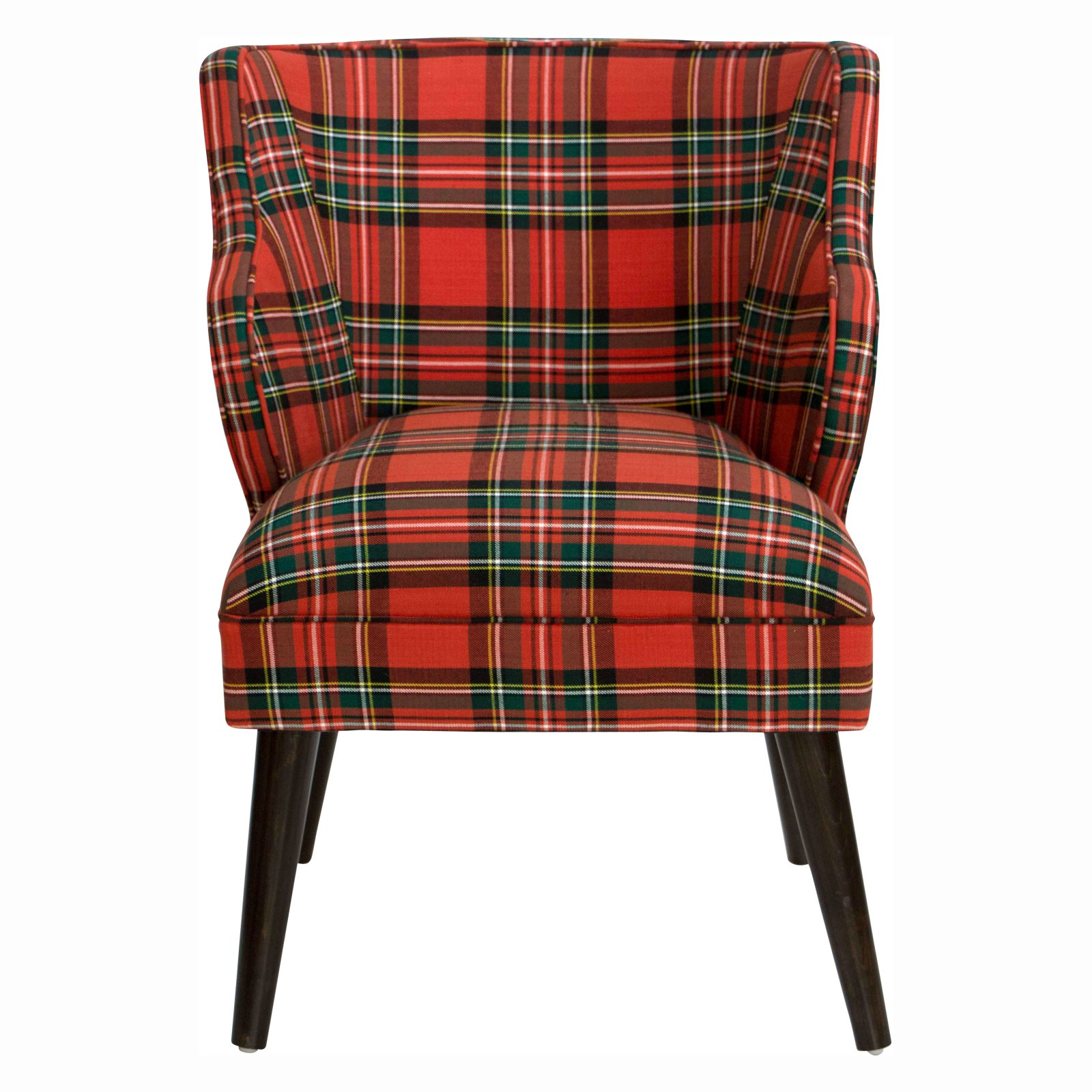 Red Plaid Chair
