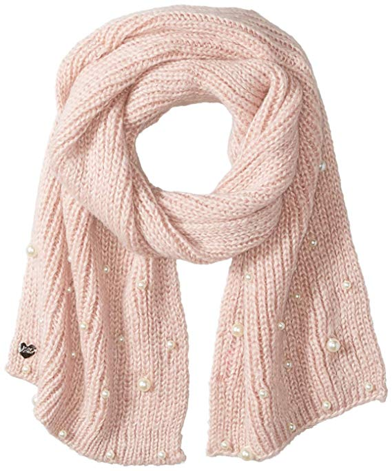 Blush Pearl Jam Winter Scarf | Warm and Cozy Gift Ideas