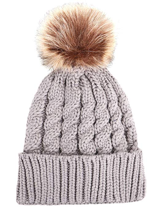 Faux Fur Beanie Hat | Warm and Cozy Gift Ideas