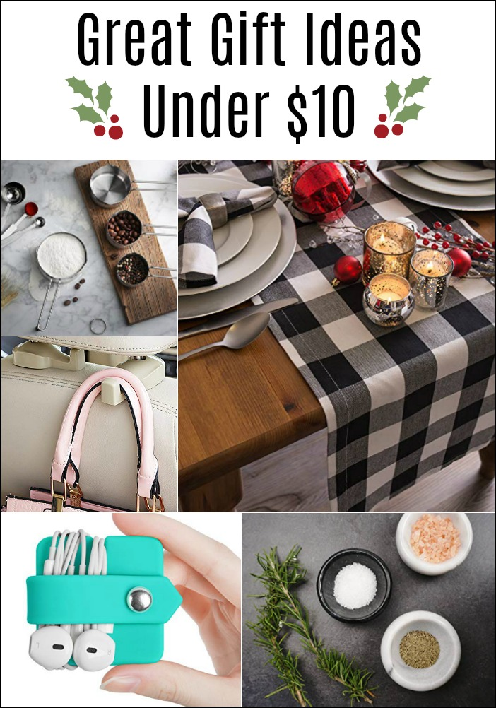 Great Holiday Gift Ideas Under $10