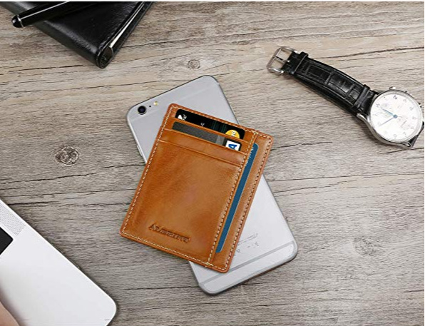Leather Wallet _ Great Gift Ideas Under $10