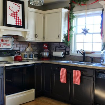 Buffalo Check Christmas Kitchen