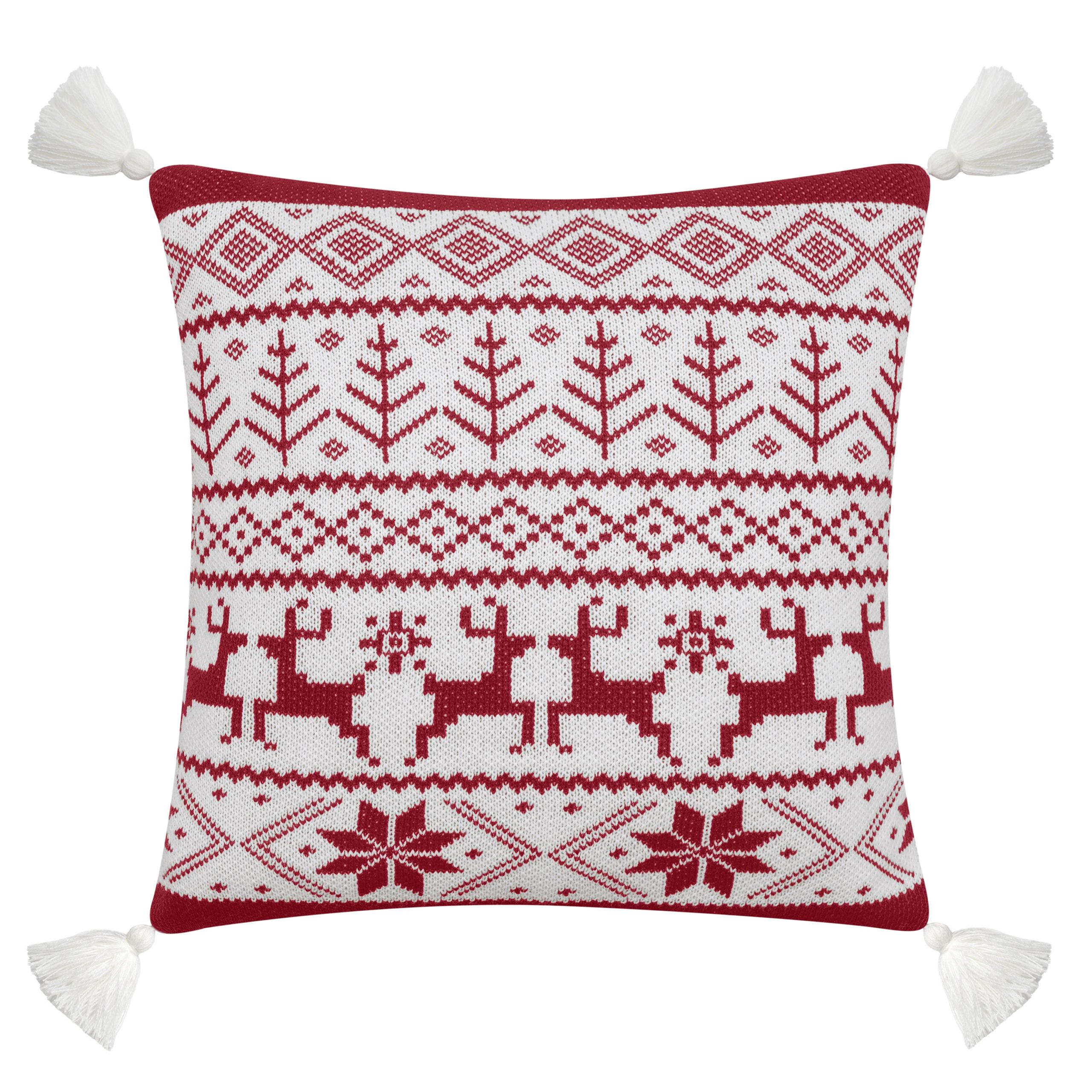 Red deer pillow