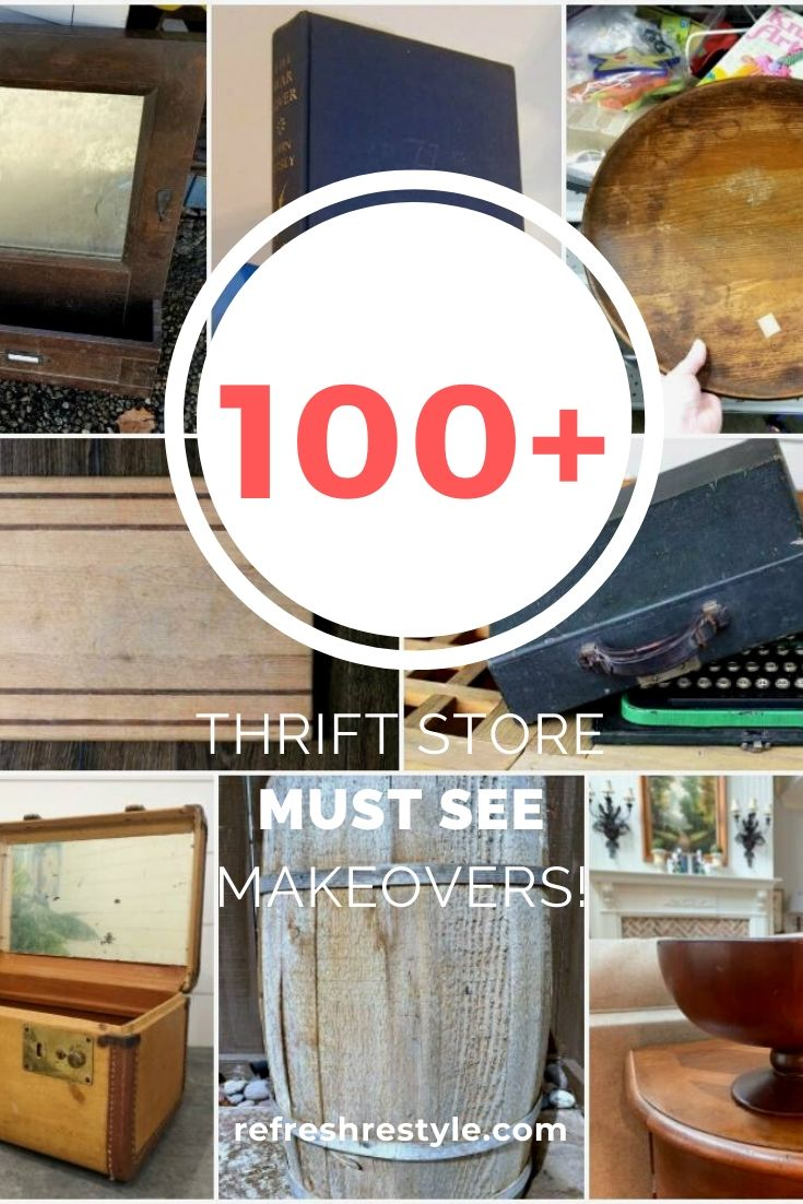 100+ best thrift store makeovers