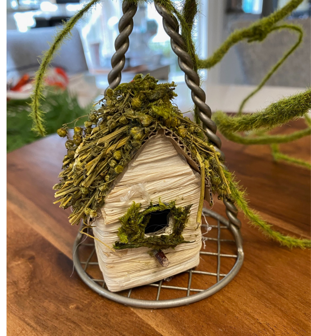 birdhouse for potato masher