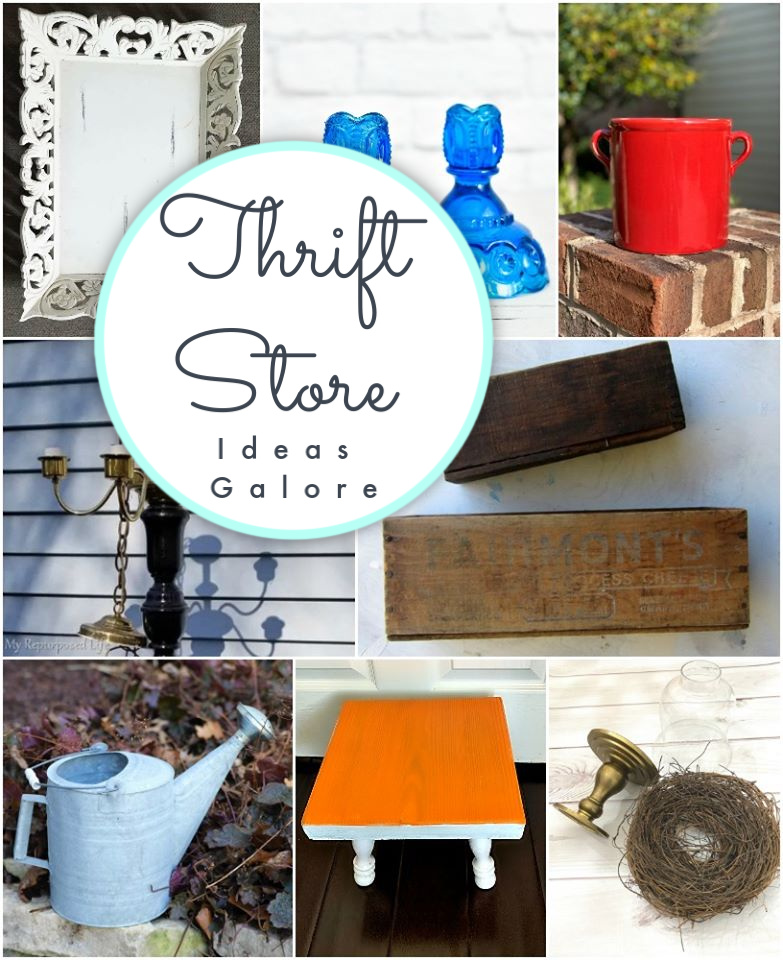 Tons of Thrift Store ideas